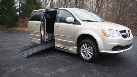 2014 Dodge Grand Caravan SXT for sale at Grand Financial Inc in Solon OH