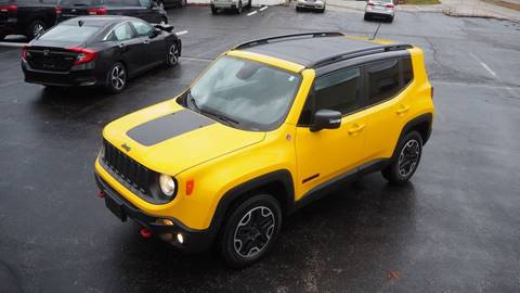 2016 Jeep Renegade Trailhawk for sale at Grand Financial Inc in Solon OH