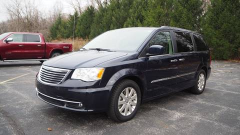 2015 Chrysler Town and Country Touring for sale at Grand Financial Inc in Solon OH