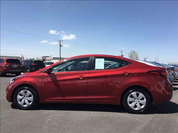 2016 Hyundai Elantra for sale at Salt Flats Auto Sales in Tooele UT
