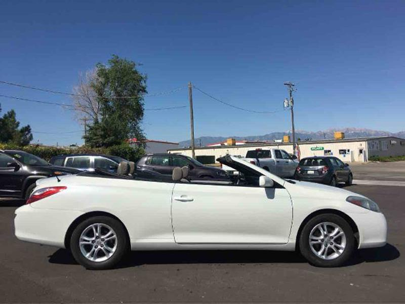 2007 Toyota Camry Solara for sale at Salt Flats Auto Sales in Tooele UT