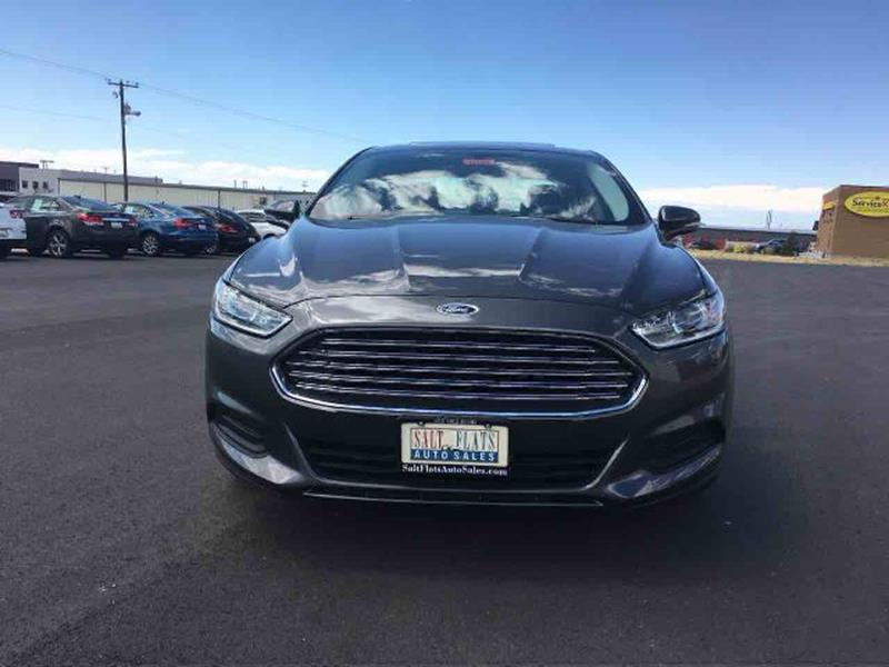 2016 Ford Fusion for sale at Salt Flats Auto Sales in Tooele UT