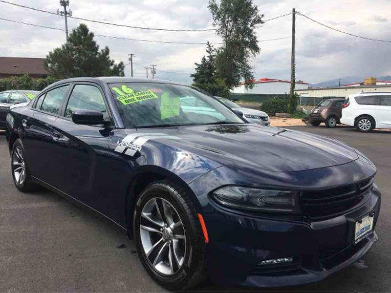 2016 Dodge Charger for sale at Salt Flats Auto Sales in Tooele UT