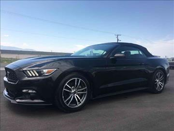 2016 Ford Mustang for sale at Salt Flats Auto Sales in Tooele UT