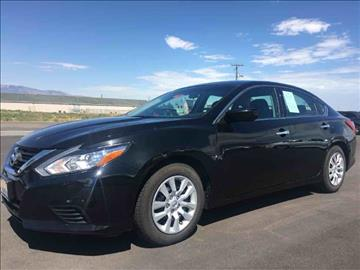 2016 Nissan Altima for sale at Salt Flats Auto Sales in Tooele UT