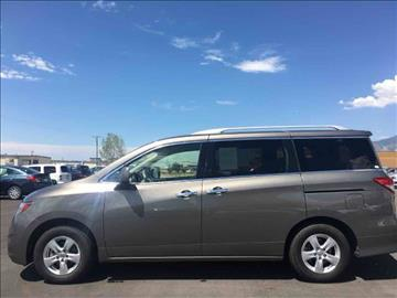 2016 Nissan Quest for sale at Salt Flats Auto Sales in Tooele UT
