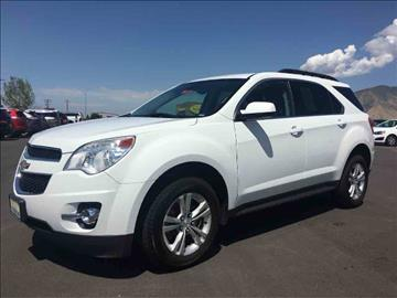 2013 Chevrolet Equinox for sale at Salt Flats Auto Sales in Tooele UT