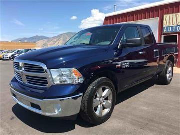 2016 RAM Ram Pickup 1500 for sale at Salt Flats Auto Sales in Tooele UT