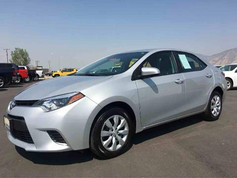2016 Toyota Corolla for sale in Tooele, UT