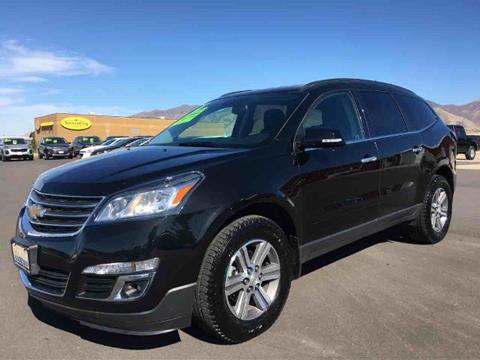 2017 Chevrolet Traverse for sale at Salt Flats Auto Sales in Tooele UT