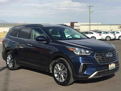 2017 Hyundai Santa Fe for sale at Salt Flats Auto Sales in Tooele UT