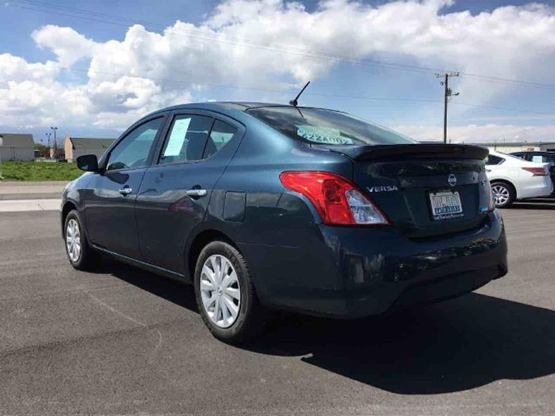 2016 Nissan Versa for sale at Salt Flats Auto Sales in Tooele UT