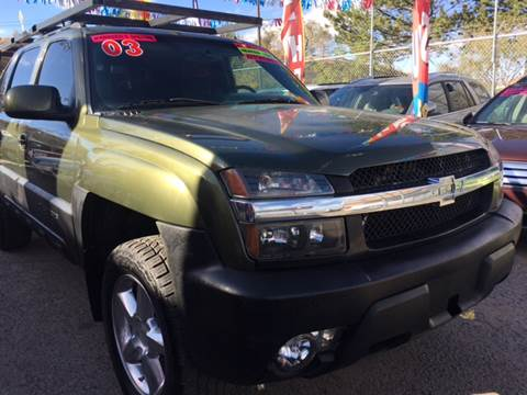 2002 Chevrolet Avalanche for sale in Gallup, NM