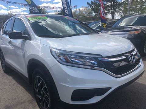 2016 Honda CR-V for sale in Gallup, NM