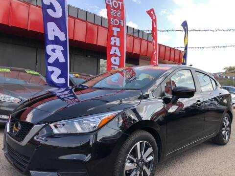 2020 Nissan Versa for sale at Duke City Auto LLC in Gallup NM