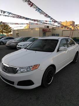 2010 Kia Optima for sale at Duke City Auto LLC in Gallup NM