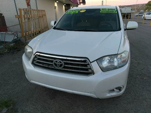 2008 Toyota Highlander for sale in Gallup, NM
