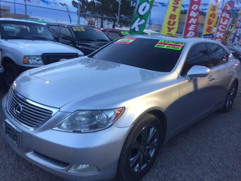 2008 Lexus LS 460 for sale at Duke City Auto LLC in Gallup NM