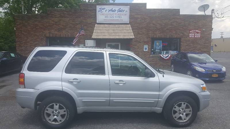 2005 Ford Escape for sale at JC's Auto Sales in Waterloo NY