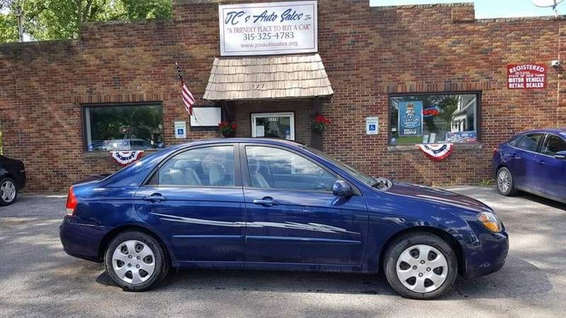 2009 Kia Spectra for sale at JC's Auto Sales in Waterloo NY