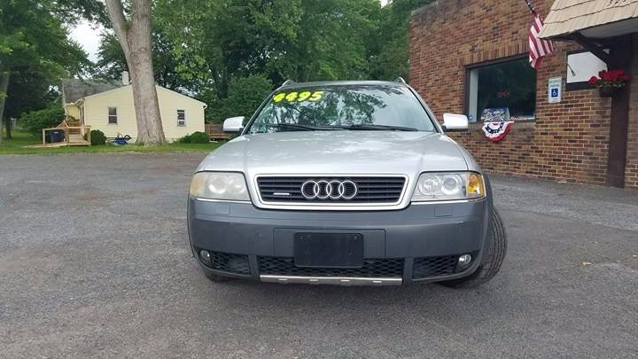 2002 Audi Allroad Quattro for sale at JC's Auto Sales in Waterloo NY