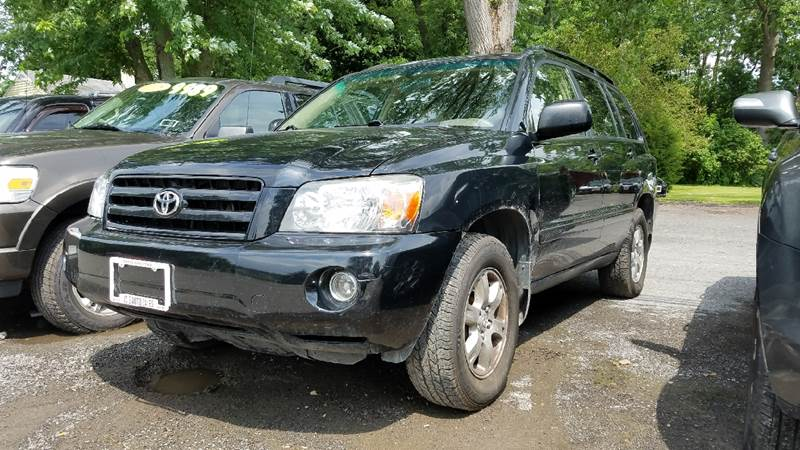 2006 Toyota Highlander for sale at JC's Auto Sales in Waterloo NY