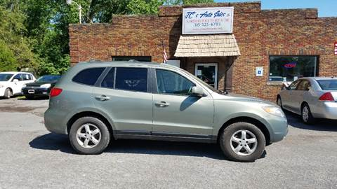 2007 Hyundai Santa Fe for sale at JC's Auto Sales in Waterloo NY