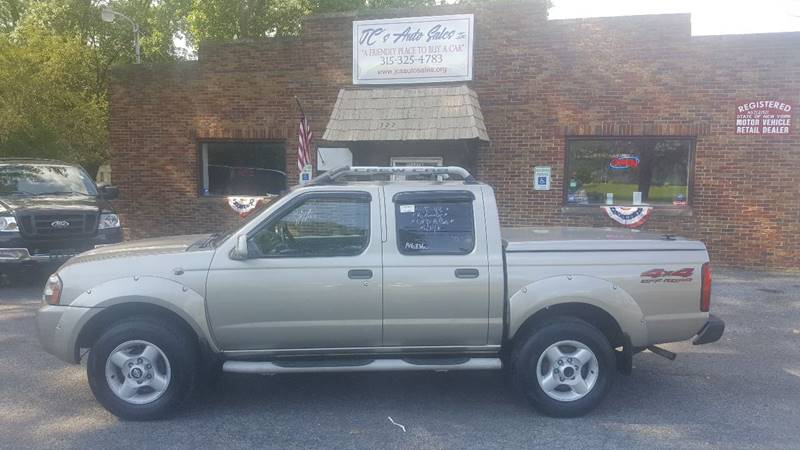 2001 Nissan Frontier for sale at JC's Auto Sales in Waterloo NY