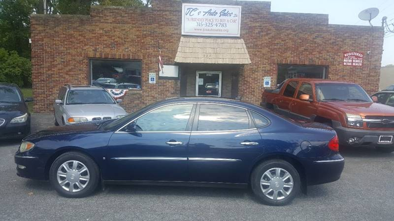 2008 Buick LaCrosse for sale at JC's Auto Sales in Waterloo NY