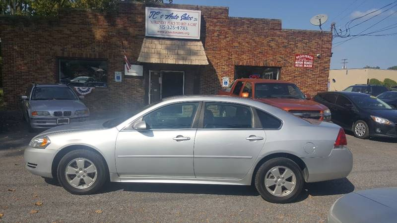 2011 Chevrolet Impala for sale at JC's Auto Sales in Waterloo NY
