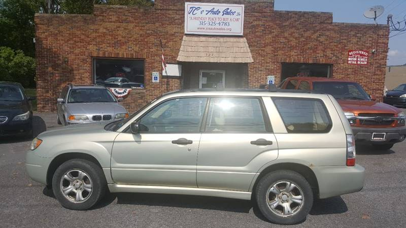 2007 Subaru Forester for sale at JC's Auto Sales in Waterloo NY