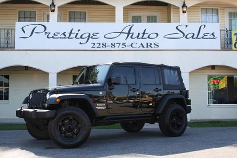 2015 Jeep Wrangler Unlimited for sale in Ocean Springs, MS