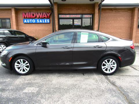 2015 Chrysler 200 For Sale >> 2015 Chrysler 200 For Sale In Kansas City Mo