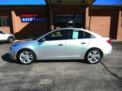 2016 Chevrolet Cruze Limited for sale in Kansas City, MO