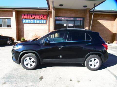 2019 Chevrolet Trax LT for sale at Midway Auto in Kansas City MO