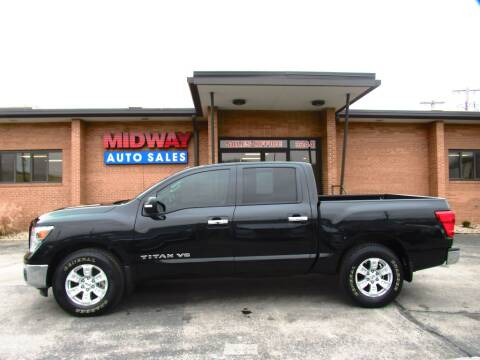 2019 Nissan Titan SV for sale at Midway Auto in Kansas City MO