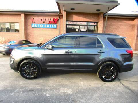 2017 Ford Explorer XLT for sale at Midway Auto in Kansas City MO