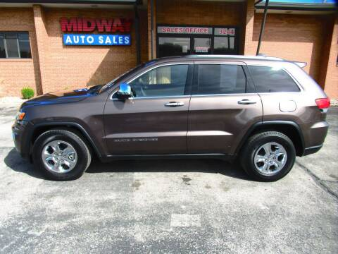 2017 Jeep Grand Cherokee for sale at Midway Auto in Kansas City MO
