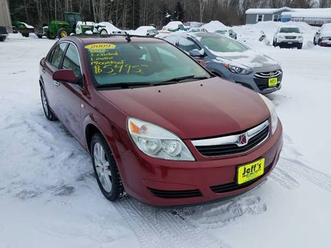 2009 Saturn Aura for sale at Jeff's Sales & Service in Presque Isle ME
