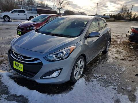 2014 Hyundai Elantra GT for sale at Jeff's Sales & Service in Presque Isle ME