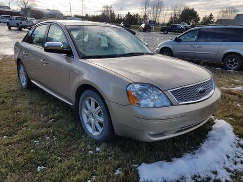 2007 Ford Five Hundred for sale at Jeff's Sales & Service in Presque Isle ME