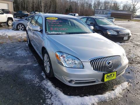 2011 Buick Lucerne for sale at Jeff's Sales & Service in Presque Isle ME