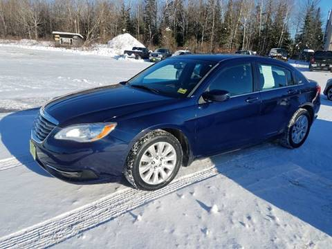 2013 Chrysler 200 for sale at Jeff's Sales & Service in Presque Isle ME