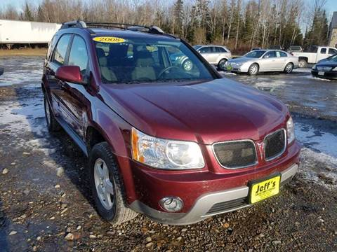 2008 Pontiac Torrent for sale at Jeff's Sales & Service in Presque Isle ME