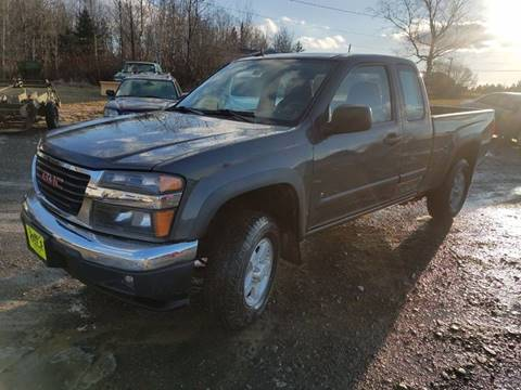 2008 GMC Canyon for sale at Jeff's Sales & Service in Presque Isle ME