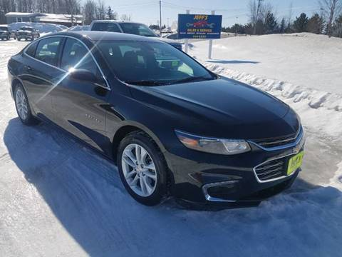 2016 Chevrolet Malibu for sale at Jeff's Sales & Service in Presque Isle ME