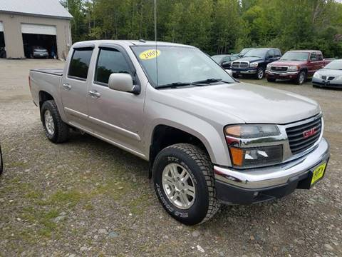 2009 GMC Canyon for sale at Jeff's Sales & Service in Presque Isle ME