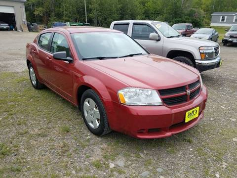 2008 Dodge Avenger for sale at Jeff's Sales & Service in Presque Isle ME