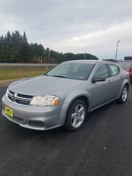 2013 Dodge Avenger for sale at Jeff's Sales & Service in Presque Isle ME