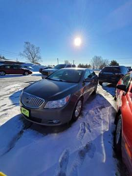 2012 Buick LaCrosse Leather for sale at Jeff's Sales & Service in Presque Isle ME